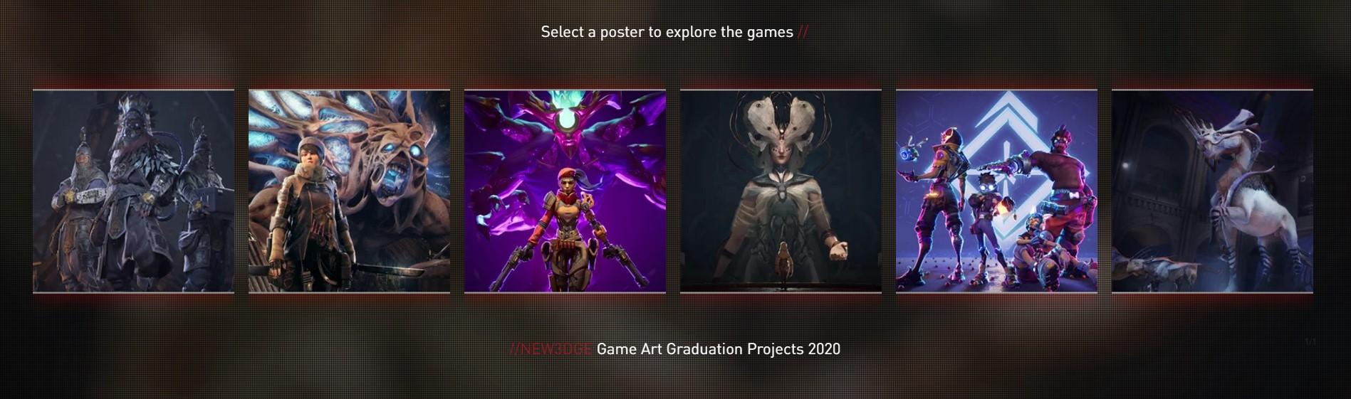 PROJETS DE FIN D ETUDES GAME ART 2020