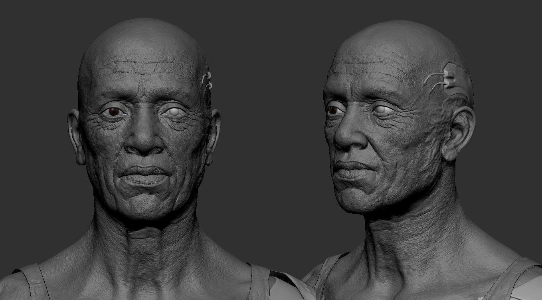Cyborg sculpt Portrait.JPG