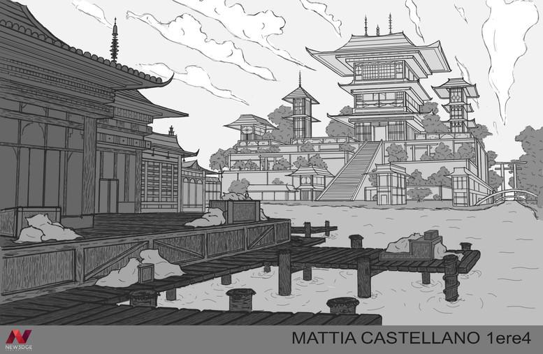 Rendu pdf ville médievale Mattia Castell