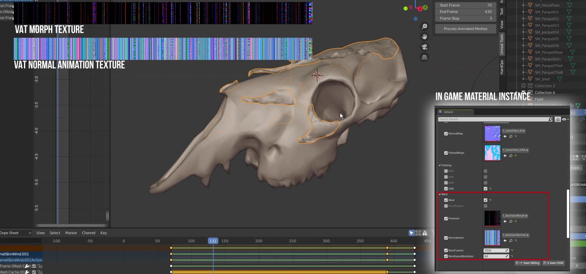 Vertex Animation Texture