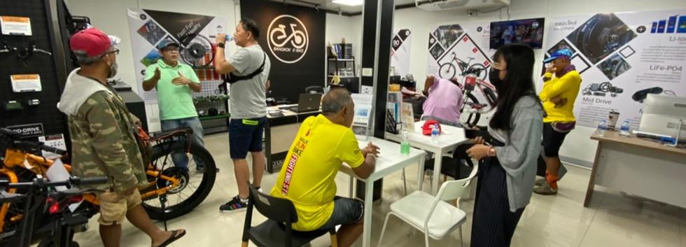 Showroom Bangkok E-Bike