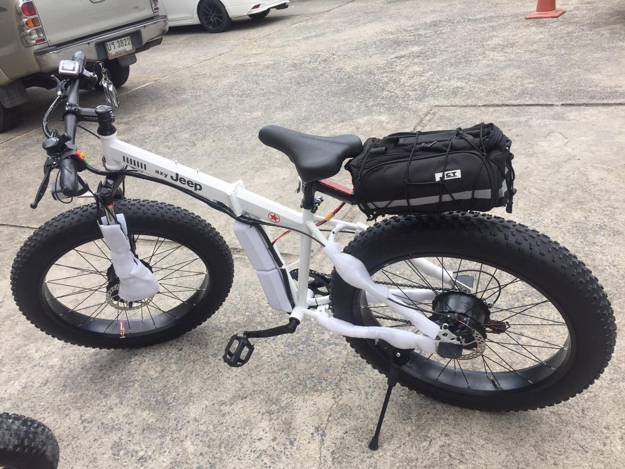 จักรยาน FAT-Bike นิยมติดล้อไฟฟ้ามากๆ