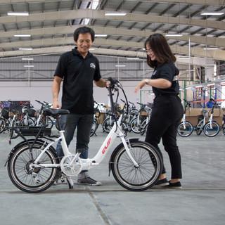เรามีบริการจัดส่งรถจักรยานไฟฟ้าให้คุณลูกค้าทั่วประเทศ