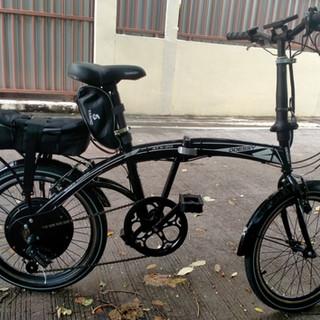 ติดตั้งได้หลายรุ่นจักรยานพับไฟฟ้า