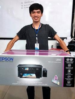 เครื่องพิมพ์บัตรราคาถูก รับพิมพ์บัตร