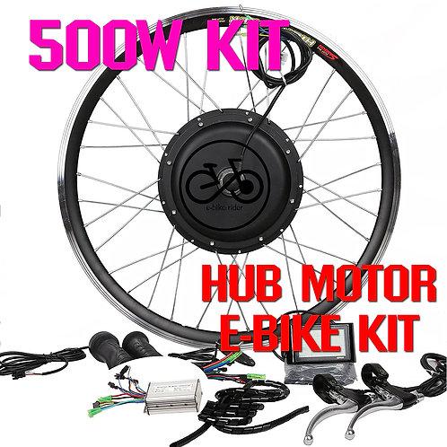 ชุดจักรยานไฟฟ้า 48V / 500W ล้อหน้า-ล้อหลัง