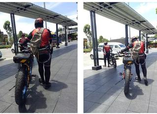 จักรยานไฟฟ้าออกทริป ไปได้ไกลแค่ไหน? มอเตอร์ 1500W 16Ah Battery
