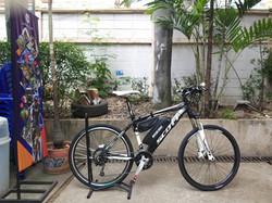 ดัดแปลงและติดตั้งจักรยานไฟฟ้า