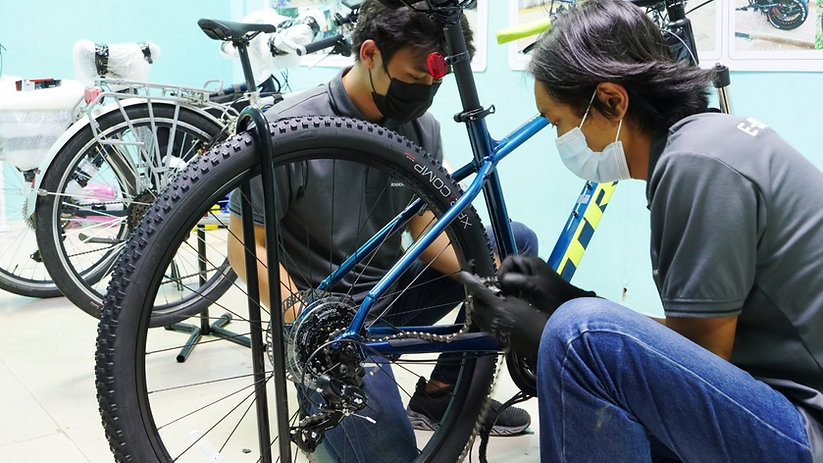 install your ebike motor withus