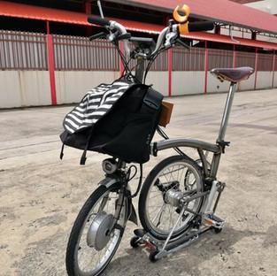 จักรยานไฟฟ้าพับ