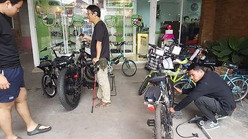 จักรยานไฟฟ้าในกรุงเทพ