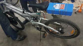 ชุด KIT จักรยานไฟฟ้า พร้อม Battery
