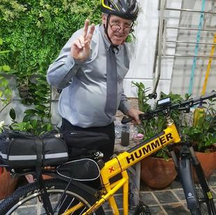 Electric bike in Bangkok