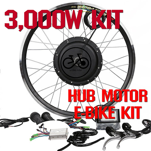 ชุดจักรยานไฟฟ้า 60V / 3000W ขับเคลื่อนล้อหน้า-หลัง