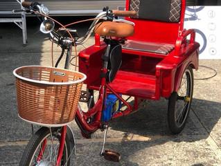 ผลงานติดตั้งระบบไฟฟ้าลงบนรถ 3 ล้อ Bangkok E-Bike จัดให้ได้ ขนของ-ซื้อของ-ปั่นเที่ยวได้หมด
