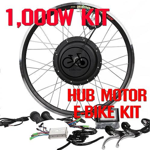 ชุดจักรยานไฟฟ้า 48V / 1000W ขับเคลื่อนล้อหน้า-หลัง