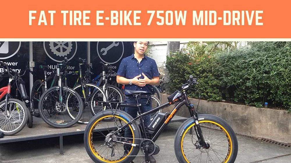 จักรยานไฟฟ้า Fat bike