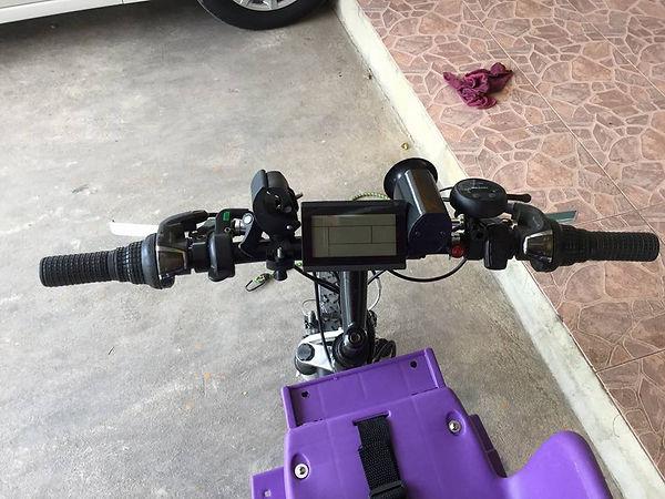 ชุดติดตั้งจักรยานไฟฟ้า