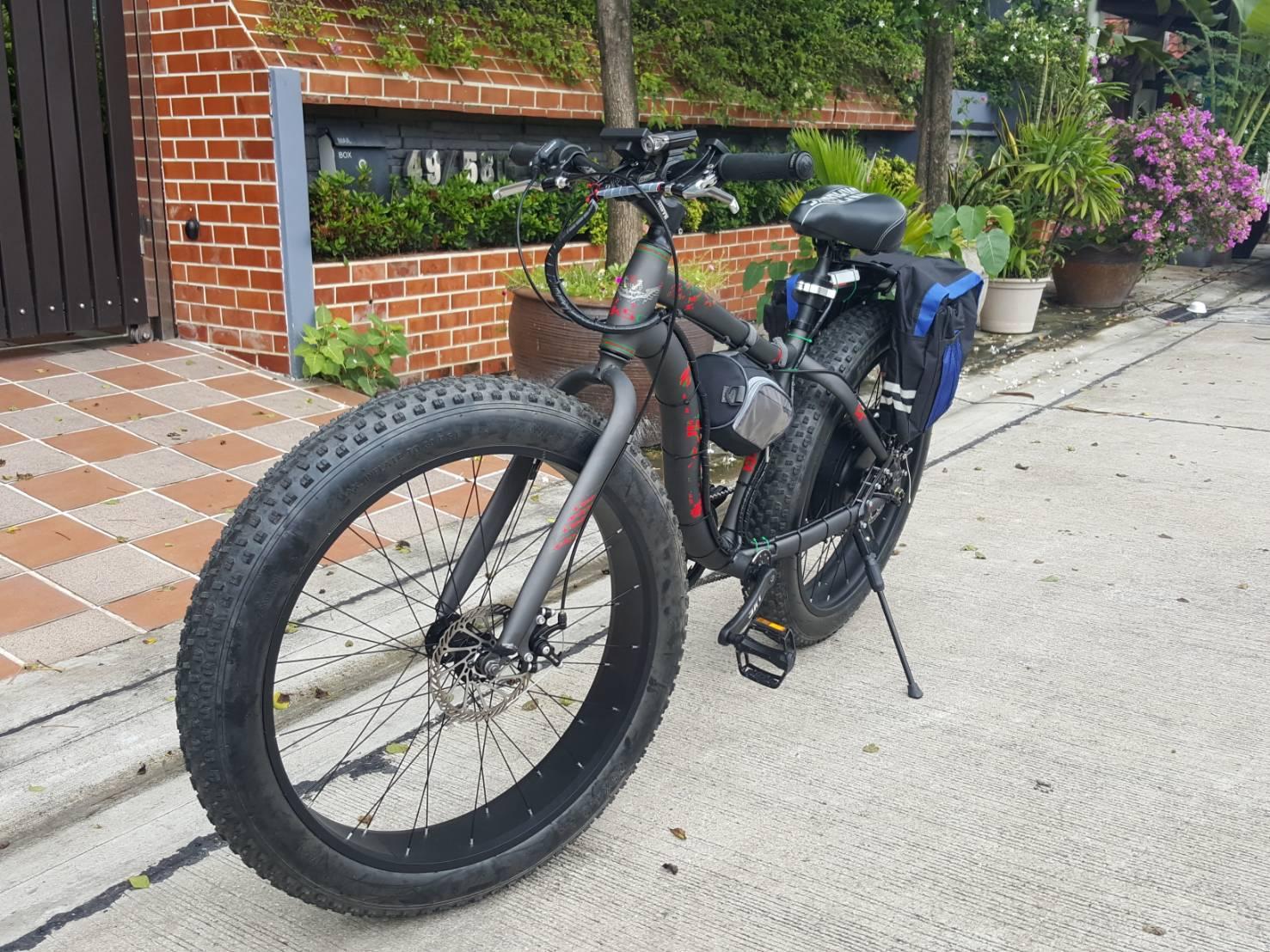 จักรยาน Fat Bike 1500W ขับหลัง