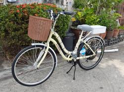 """ติดตั้งมอเตอร์ไฟฟ้าให้กับจักรยาน 26"""""""