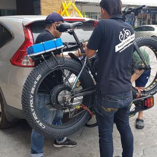 ร้านจักรยานไฟฟ้าในกรุงเทพ