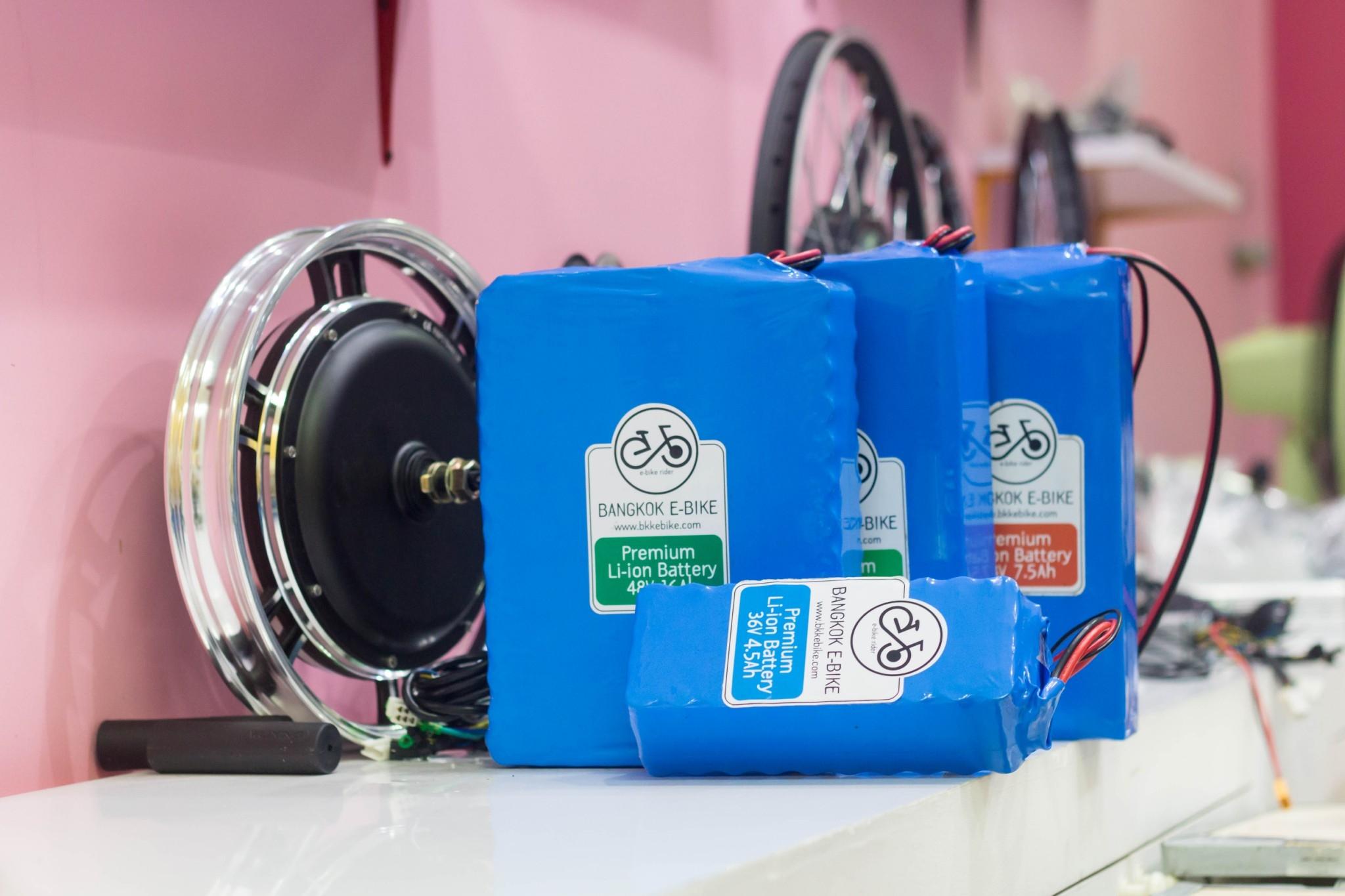 แบตเตอรี่สำหรับจักรยานไฟฟ้า Li-ion