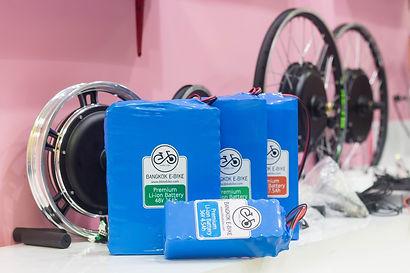 Battery สำหรับจักรยานไฟฟ้าแรงๆ