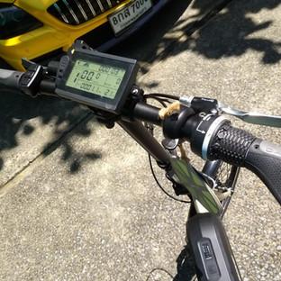 จักรยานไฟฟ้าพร้อมหน้าจอ LCD