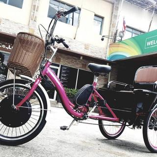 จักรยาน 3 ล้อไฟฟ้า เคลื่อนที่ได้