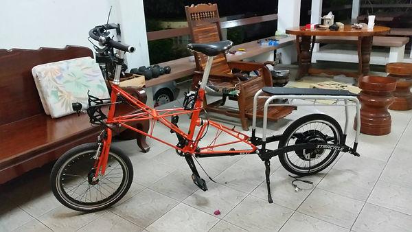 ชุดจักรยานไฟฟ้า