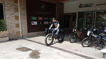 ทดสอบการขับขี่จักรยานไฟฟ้า