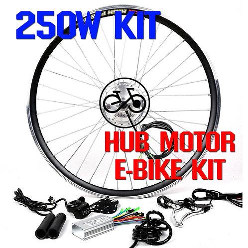 ชุดจักรยานไฟฟ้า 36V / 250W ล้อหน้า-ล้อหลัง (E-Bike KIT 250W Motor 36V)