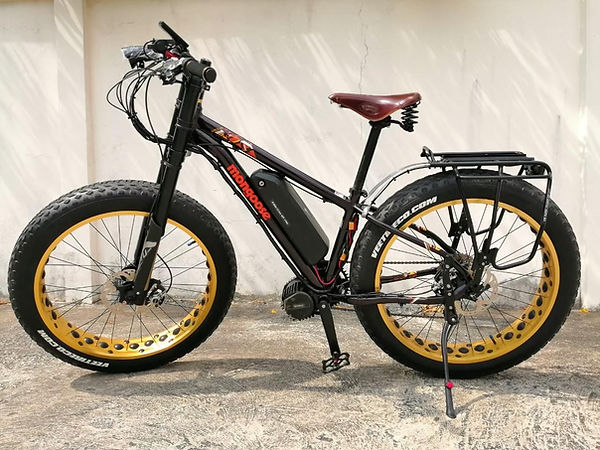 รถไฟฟ้ามอเตอร์จักรยานในกรุงเทพ
