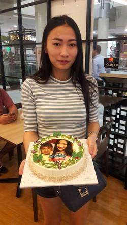 พิมพ์หน้าเค้กด้วยชุดโฟโต้เค้ก