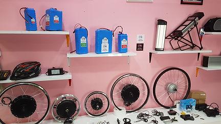 ชุดจักรยานไฟฟ้า มอเตอร์จักรยานไฟฟ้าราคาถูก