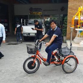 จักรยาน 3 ล้อไฟฟ้าใช้งานง่าย