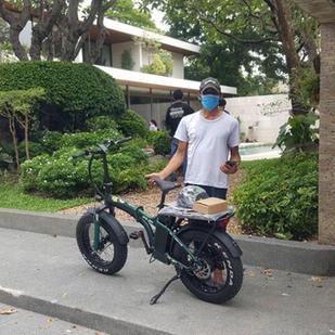 บริการจัดส่งจักรยานไฟฟ้าทั่วกรุงเทพ