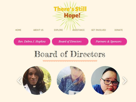 Welcome, from the team at There's Still Hope