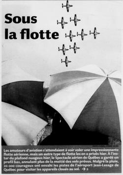 Journal Le Soleil 11 juin 2006