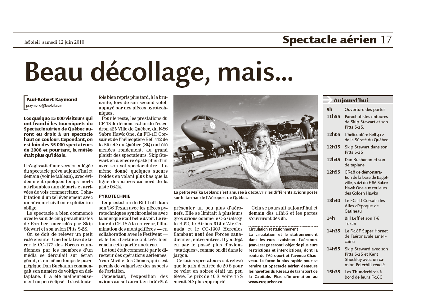 Journal Le Soleil