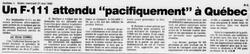 Journal Le Soleil 26 mai 1986