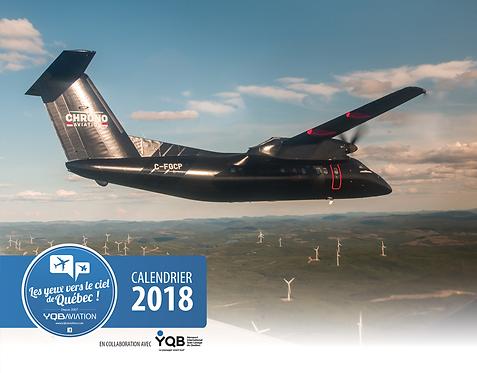 Calendrier 2018 YQB Aviation