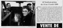 Journal Le Soleil 11 février 1999