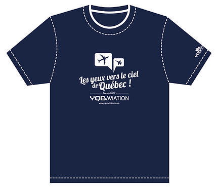 T-Shirt YQB Aviation
