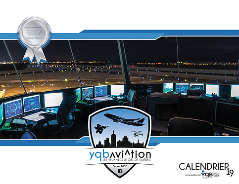 Calendrier 2019 YQB Aviation