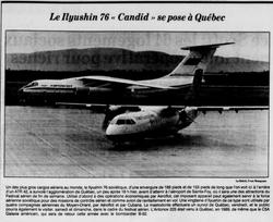 Journal Le Soleil 14 août 1991