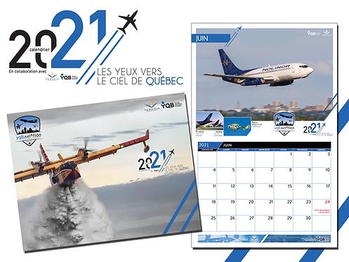 PRÉ-VENTE ! Calendrier 2021 YQB Aviation