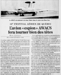 Journal Le Soleil 14 août 2003