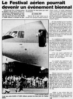 Journal Le Soleil 01 août 1988