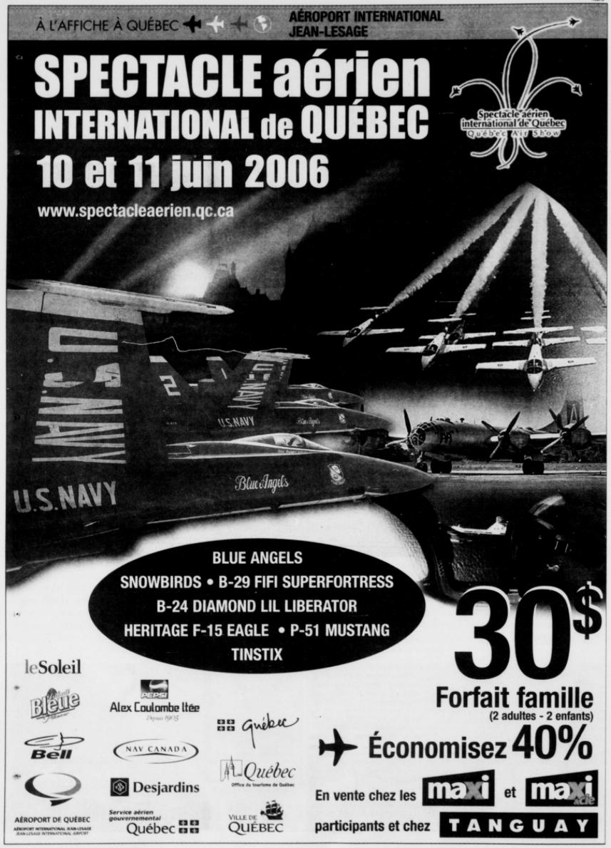 Journal Le Soleil 3 juin 2006